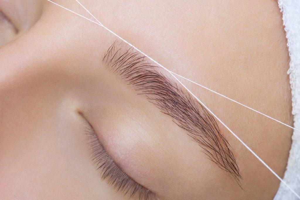 brow threading image
