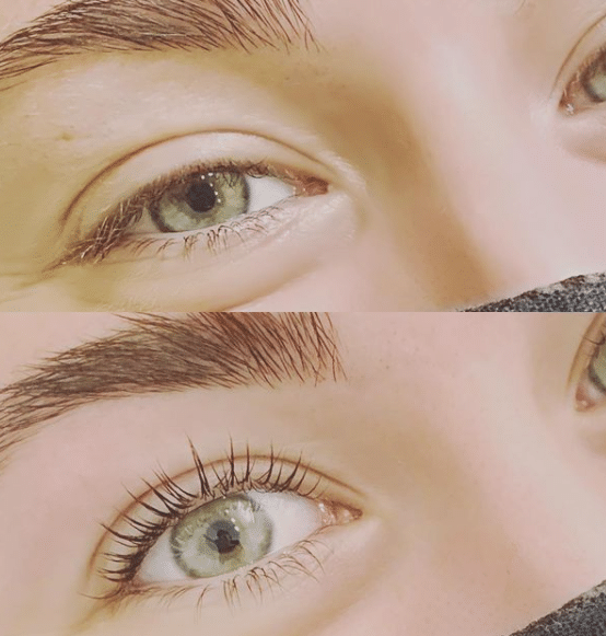 Keratin lash lift vs regular lash lift
