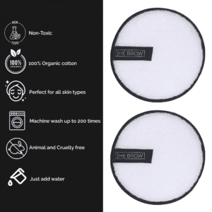 2 Pack - Reusable Makeup Remover Pads