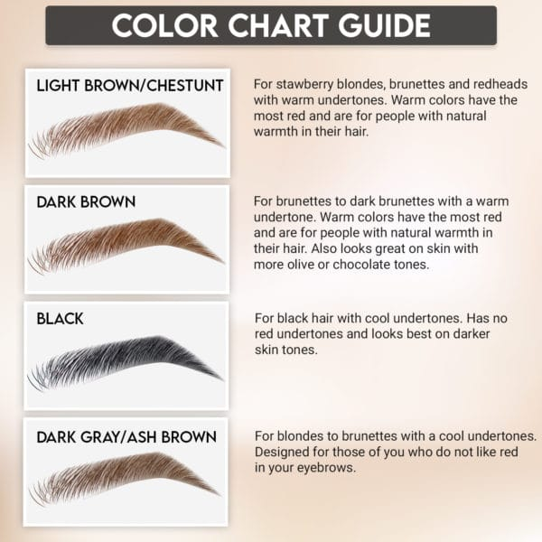 Color and Shades of Microblade Brow Pen