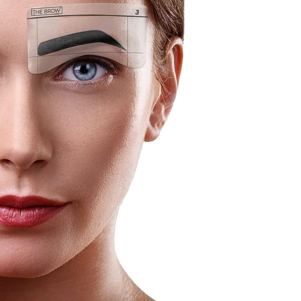 brow stamp and stencil kit