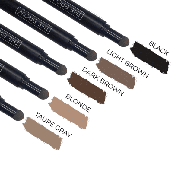 pomade brow stamp colors